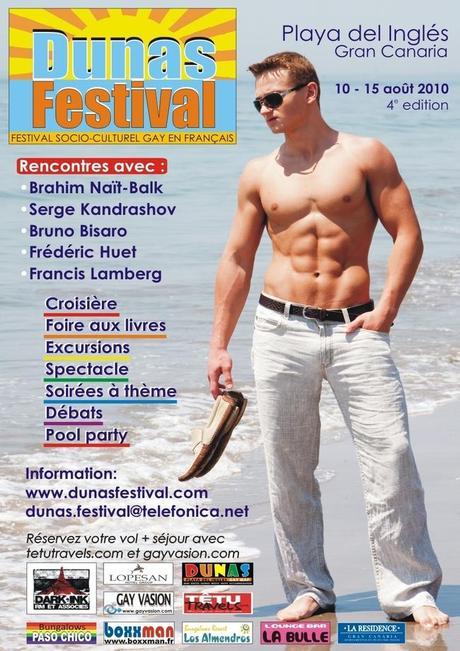 Découvrez le festival Dunas : une semaine de culture francophone LGBT aux Canaries !