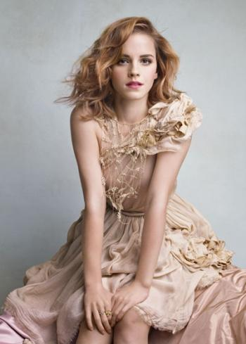 EXCLU: Emma Watson in Vanity Fair for june 2010 with Patrick Demarchelier