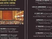 2010/2011 L'Opéra re-invite chez Gaumont Pathé pour nouvelles représentations