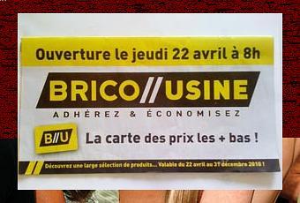 Bricorama Devient Brico Usine à Clermont Ferrand Paperblog