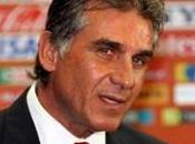 Carlos Queiroz donne liste joueurs pour Portugal