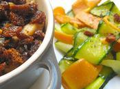 Crumble Poulet Pain d'Epice Tagliatelles Légumes