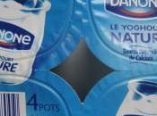 yaourts blancs: Monoprix Vrai, Danone nature vaches