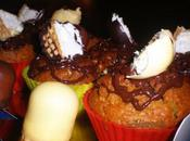 Muffins beso chocolate /Muffins baisers chocolat
