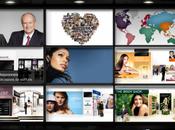 rapport d'activité interactif l'exemple L'oréal