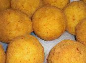 Arancini (boulette farcies l'italienne).