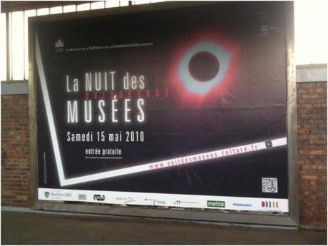 Nuit des Musées : boucle de trafic off-on et opération de buzz à base de 4 par 3, tag 2D et hashtag. Kesako ?