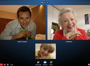 visioconférence groupe arrive Skype
