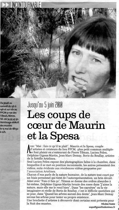 Les coups de coeur de Maurin et La Spesa