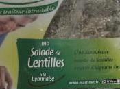 Salade lentilles lyonnaise Pierre Martinet