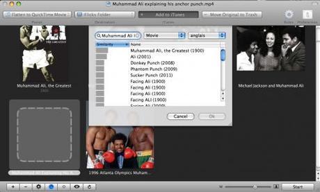 iFlicks™ base de données vidéo