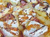 Tarte Camembert Poires Miel