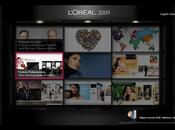 Rapports annuels interactifs pour L'Oréal Danone