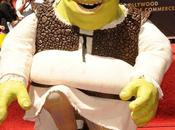 Shrek étoile Hollywood Boulevard