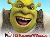 livre intéractif pour film Shrek