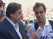 Vidéo Roland Garros Interview Richard Gasquet (24/05/2010)