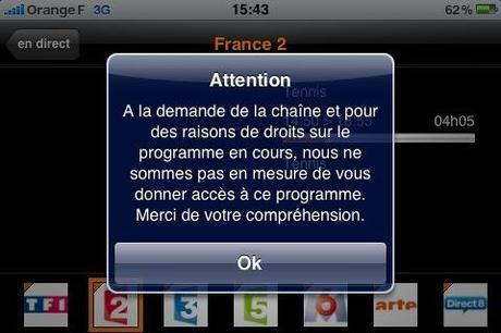 Roland Garros iPhone : un gratuit pas si gratuit