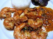 Curry crevettes façon indonésienne Indonesian style shrimp curry