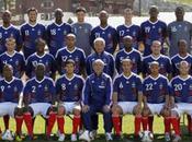 L'équipe France joue face Costa Rica .... soir mercredi 2010