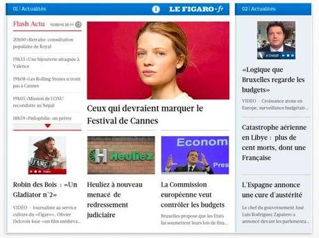 Le Figaro sur iPad