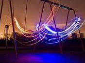 Expo lightpainting Nick Acott Paris jusqu'au juin