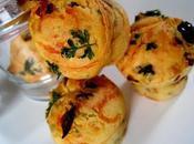 Mini-Muffins Tomates confites Basilic