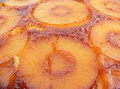 Gâteau caramélisé l'ananas rhum