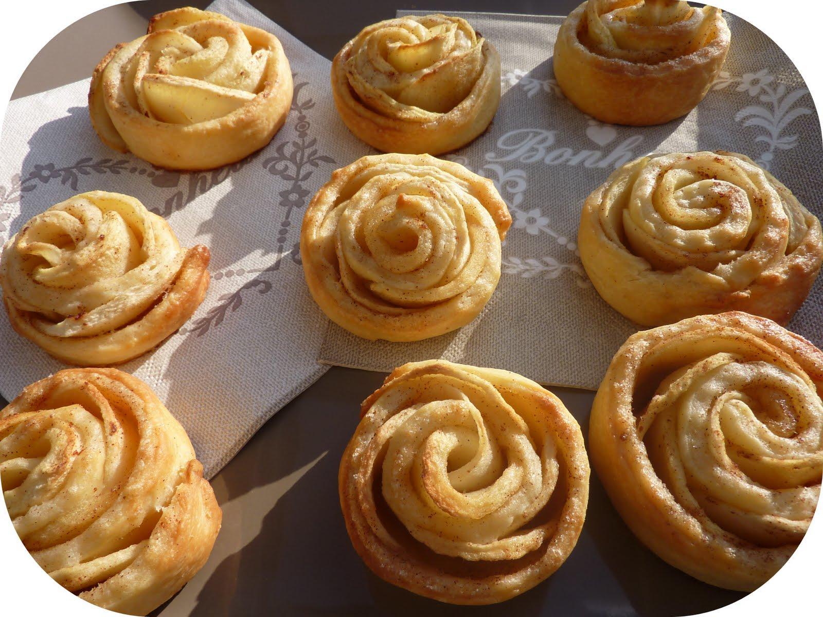 Tartelettes Aux Pommes Facon Rose Des Sables Paperblog