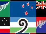 Nouvelle-Zélande dans beaux drapeaux
