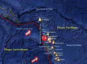 Depuis Mai, magnitude 7.2, l'archipel Vanuatu connaît crise sismique sans précédent réactivant plusieurs volcans