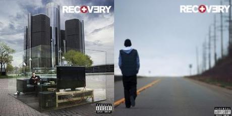 Les pochettes du nouvel album d'Eminem ressemblent à ça!
