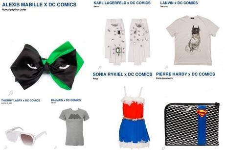 Post image for DC Comics 75 ans x Colette x Alexis Mabille, Balmain, Lanvin, Karl Lagerfeld, Rykiel, Pierre Hardy…