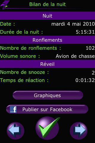 TEST : Application Ronfle-Stop & Réveil