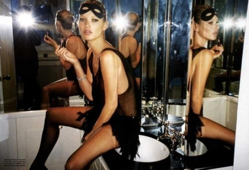 "Kate Moss by Mario Testino ""The One and Only"""
