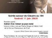 Soirée Aimé Césaire Tournefeuille