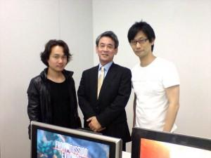 Hideo Kojima en collaboration avec Square Enix