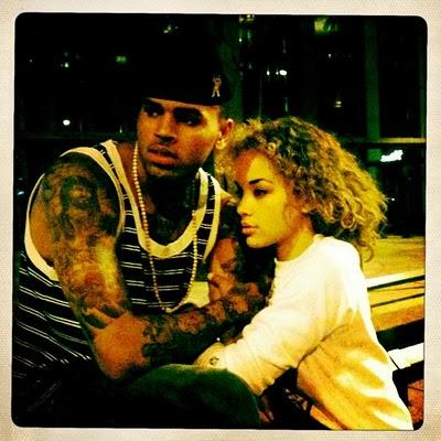 Chris Brown new boo
