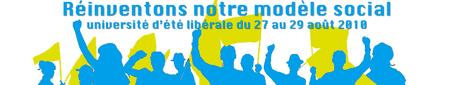 Université d'été libérale du 27 au 29 août à Tours