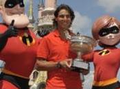 Rafael Nadal fêté victoire Disneyland (PHOTOS)