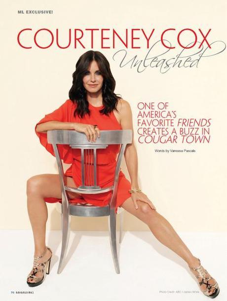 [couv] Courteney Cox pour Miami Living magazine