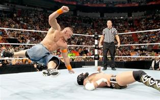Cena VS Cm Punk (Raw du 07/06/2010)