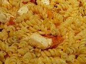 Pâtes tomates mozzarella basilic