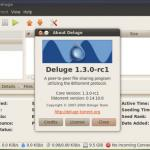 Deluge Torrent 1.3.0 Rc1