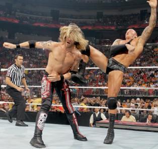 Edve Vs Randy Orton Raw 07/06/2010