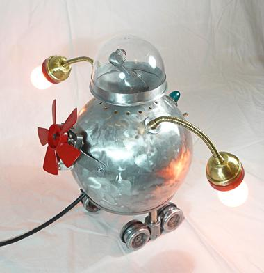 RollerBot - Lampe robot