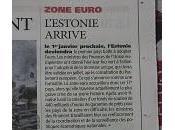 L'Estonie adoptera l'Euro Janvier 2011