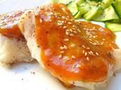 Filet Cabillaud Plancha Sauce Abricot Epicée