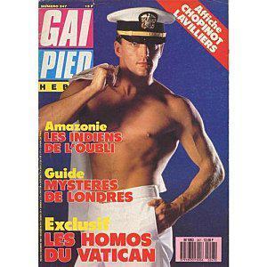 Exclu : Le magazine culte Gai Pied version 2010 en kiosque le 2 Juillet !