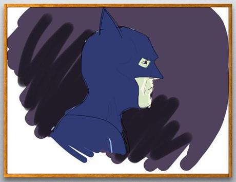 Batman fait sur Brushes pour iPad