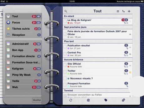 ToDo pour iPad